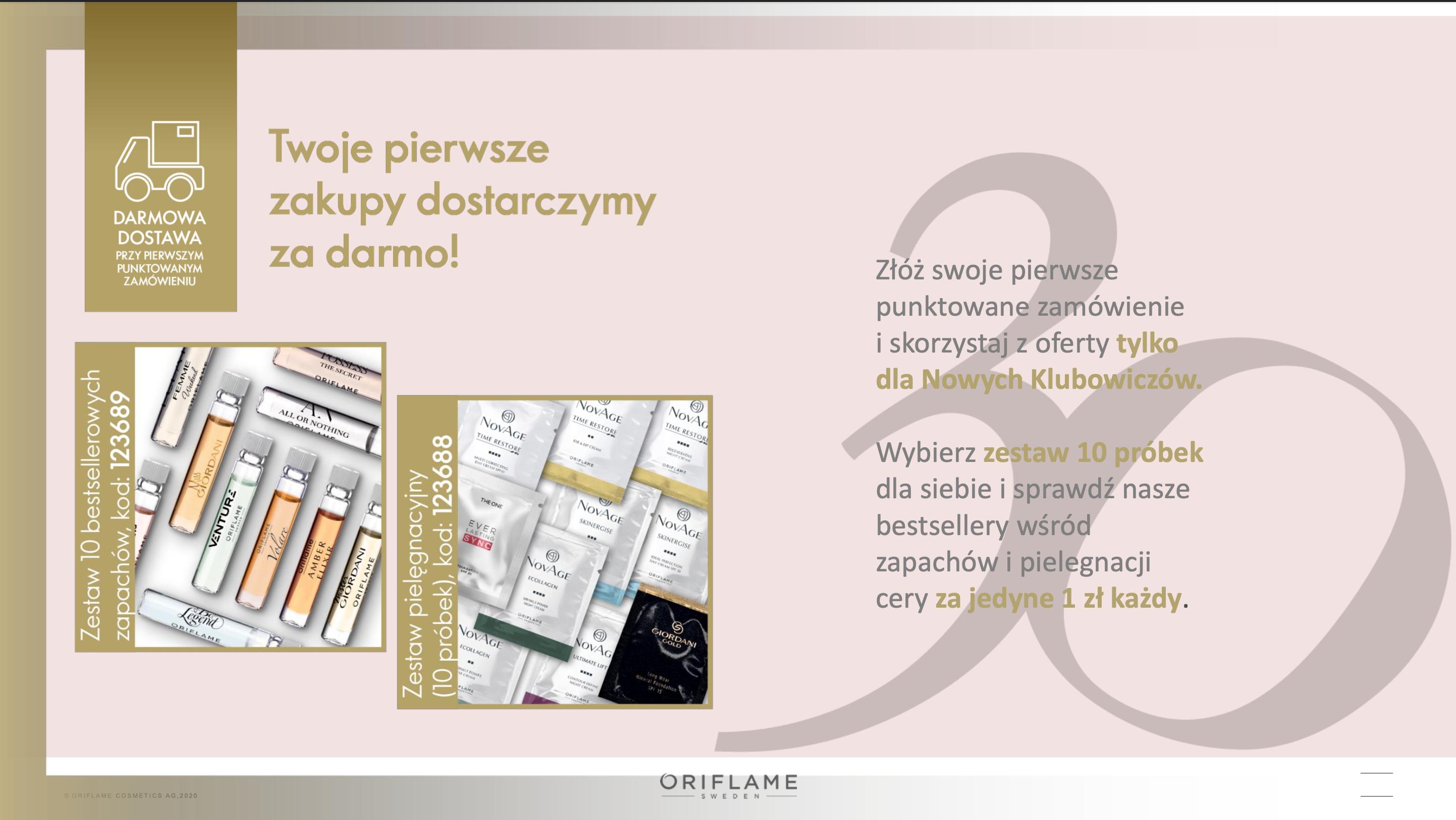 Program Witamy Oriflame